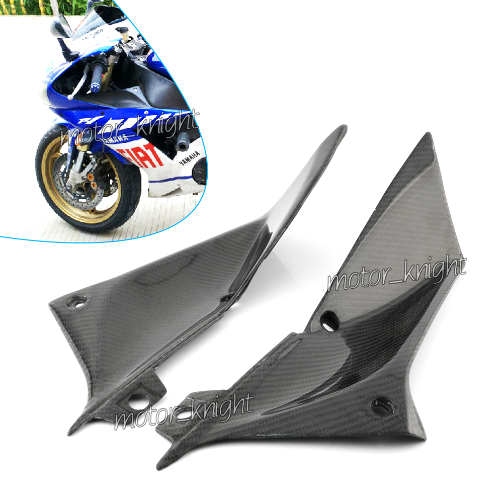Gas Tank Side Cover cowl Panel Fairing For Yamaha YZF R1 2009-2014 10 11 12 13