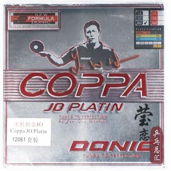 Donic original JO COPPA/JO platino 12061 tenis de mesa de goma para mesas raquetas de tenis deportes