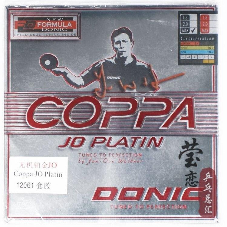 Original Donic JO COPPA/ JO PLATIN 12061 table tennis rubber table tennis rackets racquet sports original donic jo coppa jo platin 12061 table tennis rubber table tennis rackets racquet sports