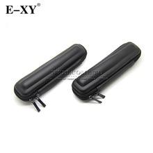 E-XY New Arrival Black Mini Slim Case Small eGo Leather Zipper Carry Bag Zipper Case eletronico,electronic cigarette case