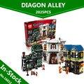 En-Stock Lepin 16012 Edición Limitada Serie de Harry Potter El Callejón Diagon Set 10217 Bloques de Construcción Ladrillos Juguetes Educativos
