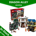 In-Stock Lepin 16012 Limited Edition Harry Potter Series The Diagon Alley Set 10217  Educational Building Blocks Bricks Toys