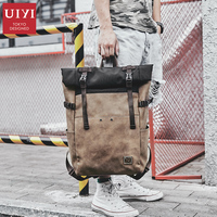 New Japanese version of the ancient book bag simple version of the backpack tide ins super fire backpack mens leisure travel bag