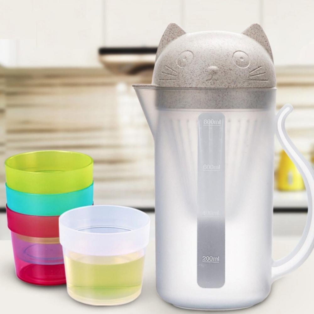 Creative 800ml Drinkware Bottle Tea Infuser Cupmug Teapot Teabags for Water Bottle Drinkware Kitchen Tools