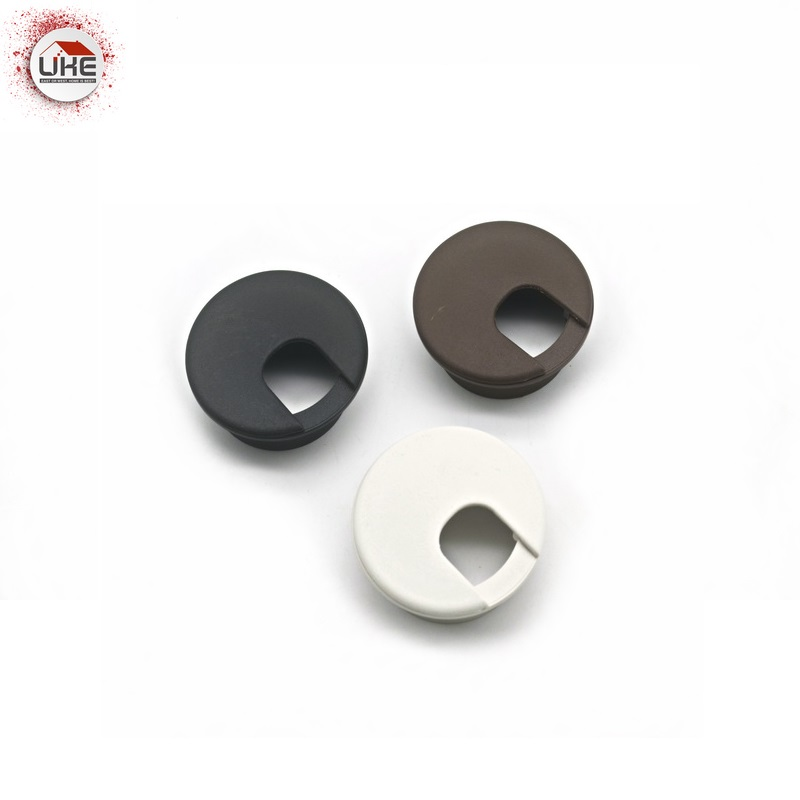 UKE High Quality 10pcs 50mm Round Computer PC Table Grommet Cable Wire Outlet Cable Hole Cover Table Wire Storage Rack