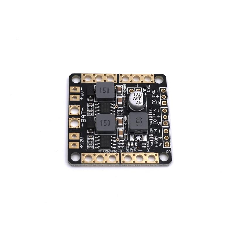 Power Distribution Module Board PDB XT60 BEC 5V//12V CC3D//Naze32//F3 for FPV Drone