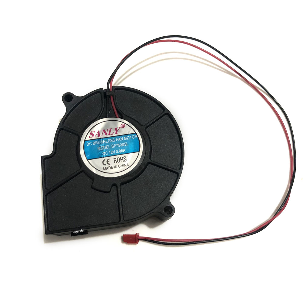 Blower cooler cooling fan SANLY SF7530SL DC BRUSHLESS FAN MOTOR 0.08A 12V