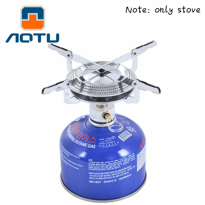 Outdoor Tumpah Piknik Burner Camping Kompor Gas AT6313