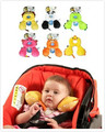 Total Support Headrest Baby Infant Car Travel Sleeping U shape Pillow Cartoon Head Neck Seat Covers For Child kids 0-12 M GYH