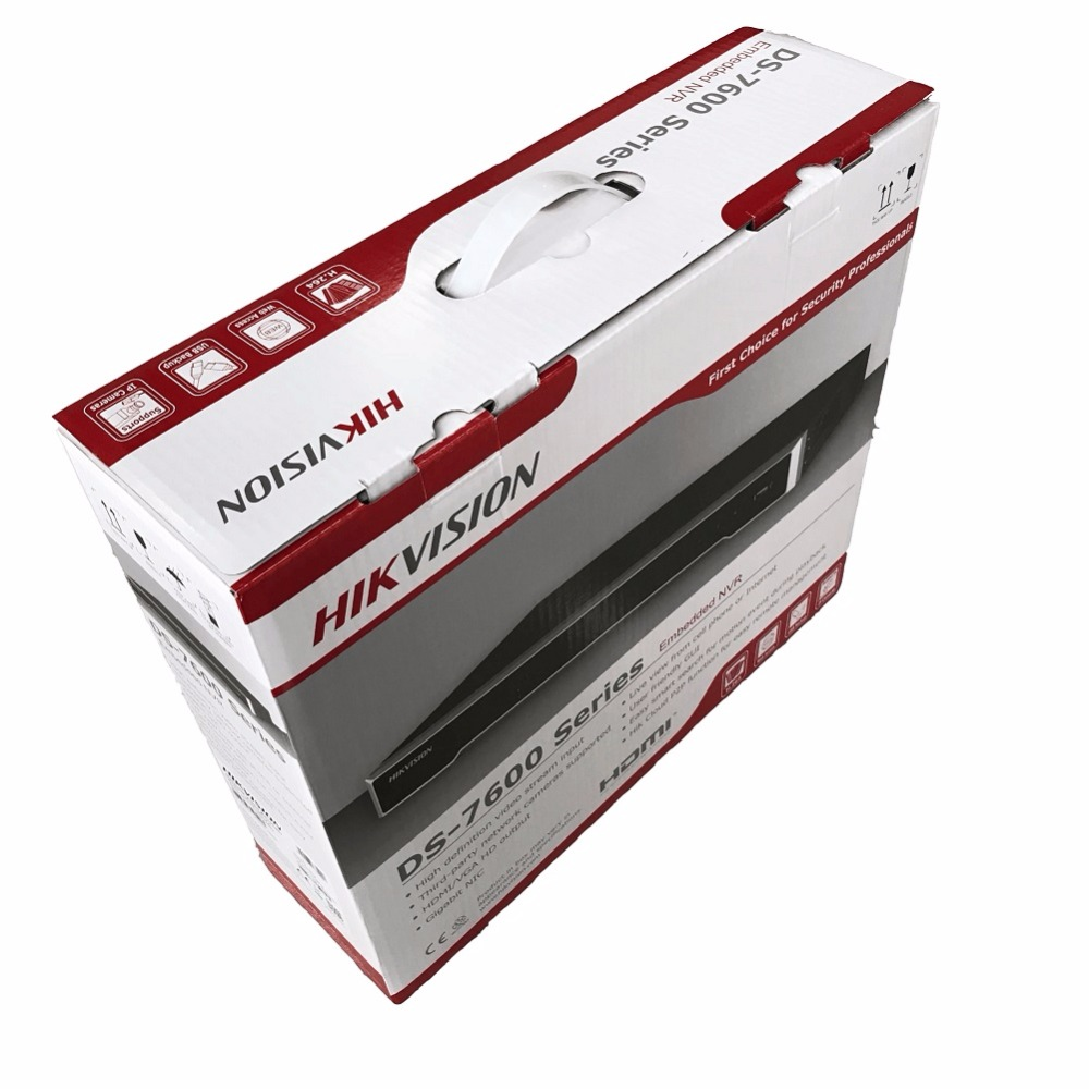 HIKVISION DS-7608NI-K2 DS-7616NI-K2 Embedded 4K NVR For IP Camera CCTV Network Video Recorder Support Onvif Protocal hikvision ds 7108n sn ds 7104n sn multi language 1080p nvr for ip camera cctv network video recorder support onvif protocal