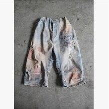 Новая версия продукта в летом 2016 года оригинальный дизайн ковбой хлопок свободные большие ярдов женские шорты брюки