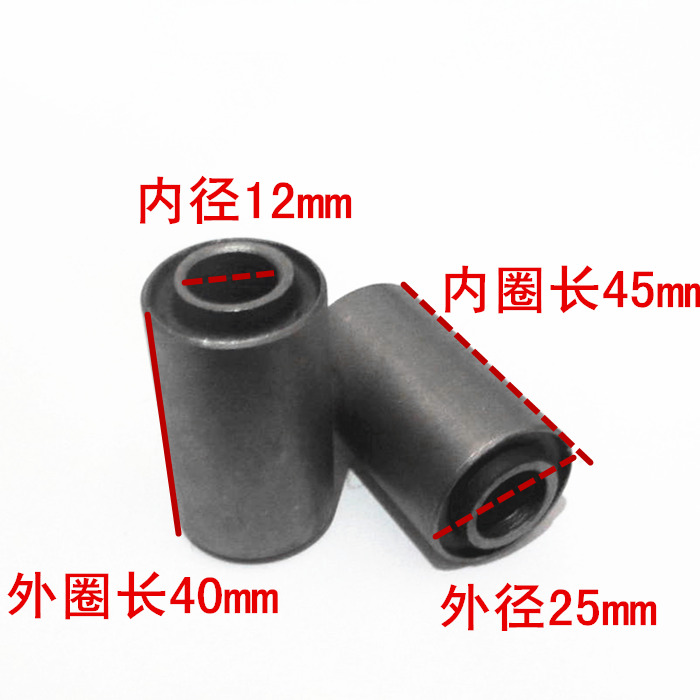 Replacement Spare Parts Motorcycle Rear Fork Pivot Bush Buffer For Honda WY125 W Y 125 125cc
