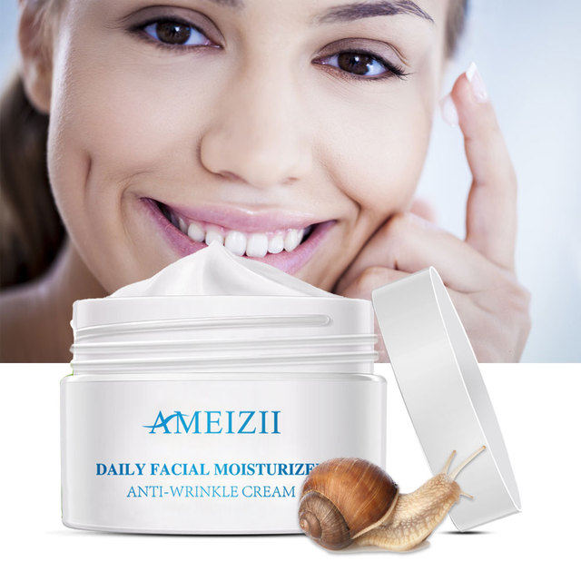Producto de Importación  Crema Facial antiarrugas blanqueamiento nutritivo Caracol reparación acne hidratante