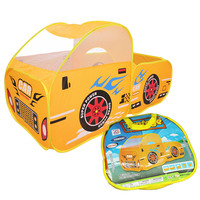Baby Playpen Kid Safe Portable Playpen Toy Cars Tent Huge Car Design House Hut Ball Pool