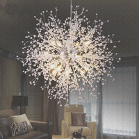 현대 G4 LED 샹들리에 아크릴 조명 램프 다 이닝 룸 거실 lampadario moderno Lustre 샹들리에 조명