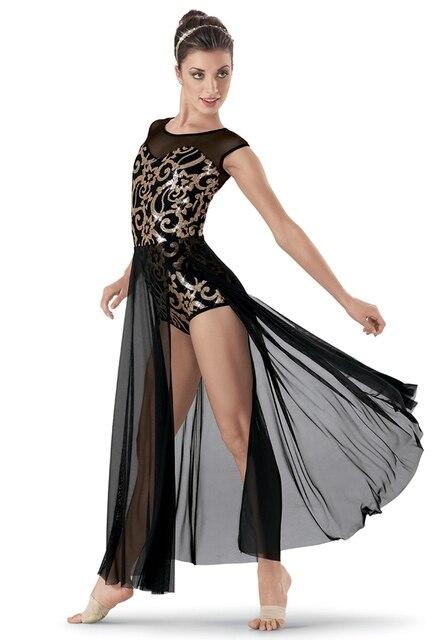 9454f0a7c Adult Modern Dance Dress Girls Ballet Dancers Practice Costumes 3 ...