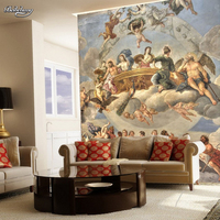Papel De Parede Para Quarto Free Shipping Large European Style Wallpaper Mural Painting World Famous Wallpaper
