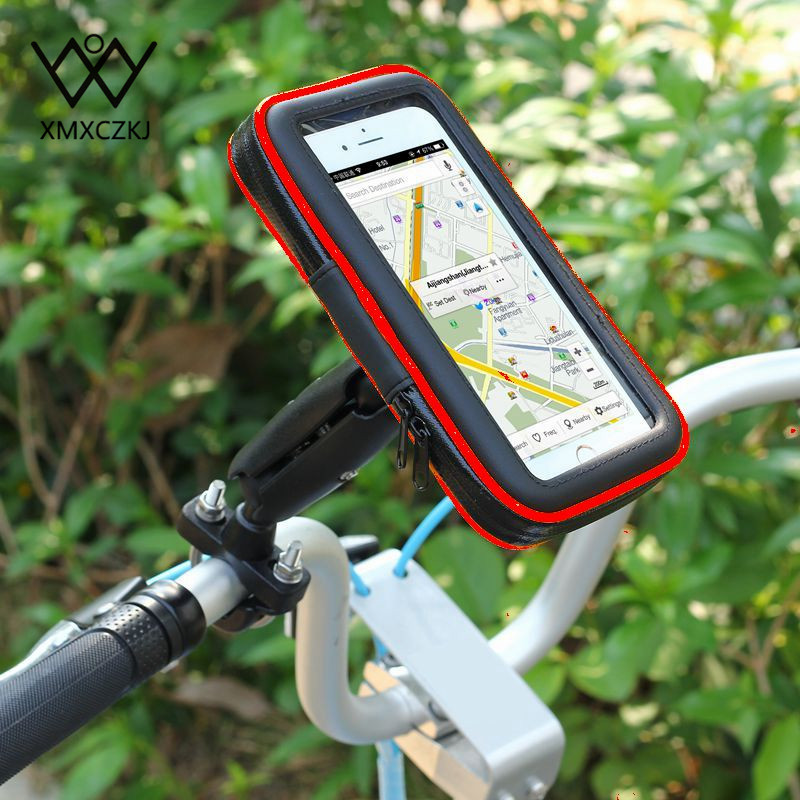 Waterproof Bicycle Bag Bike Mount Holder Case Bicycle Cover For Mobile Phone Bicycle <font><b>Accessories</b></font> Handlebar Holder