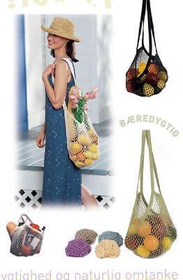 Reusable Net Woven Drawstring Shopping Bag 3