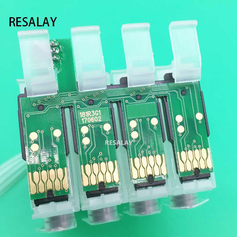 T1811-T1814 CISS Combo Chip untuk Epson XP-30 XP-102 XP-202 XP-205 XP-302 XP-305 XP-402 XP-405 XP-212 XP-215 XP-312 XP-315 XP-415