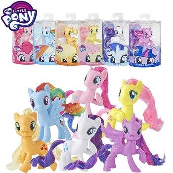 Оригинальный бренд My Little Pony Toys friendly is Magic Rainbow Dash Pinkie модель игрушки для маленького ребенка подарок на день рождения для девочки Bonecas