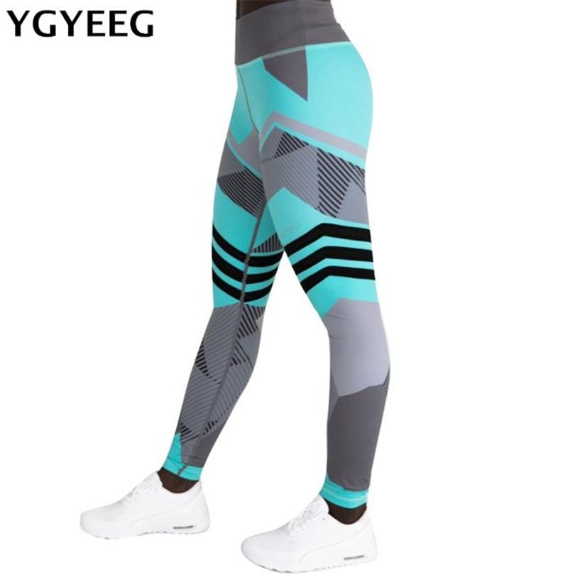 YRRETY 2019 Fashion Work Out Elastic   Leggings   Women Printing Fitness Pencil Pants Female Casual Sweatwear Skinny Leggins S-XXXL