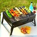 Barbecue Portable | Gril  brûleur  four pour 3 à 5 personnes  jardin extérieur charbon de bois  Barbecue Patio  cuisine pliable pique-nique