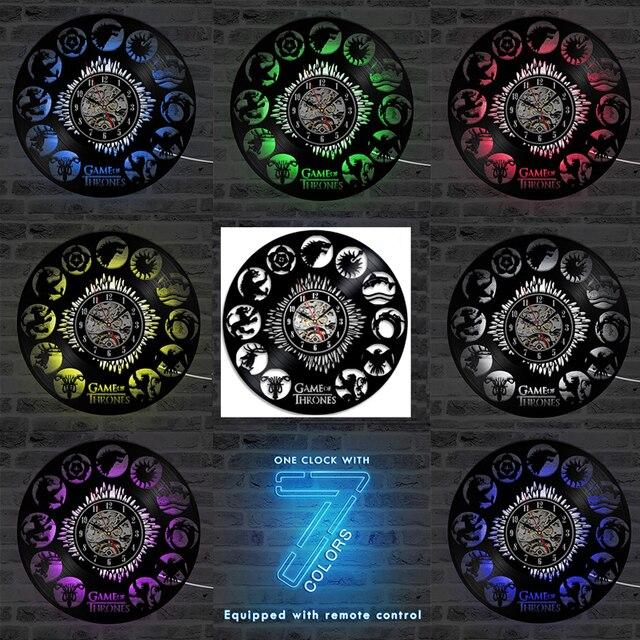 LED Wall Clock  4