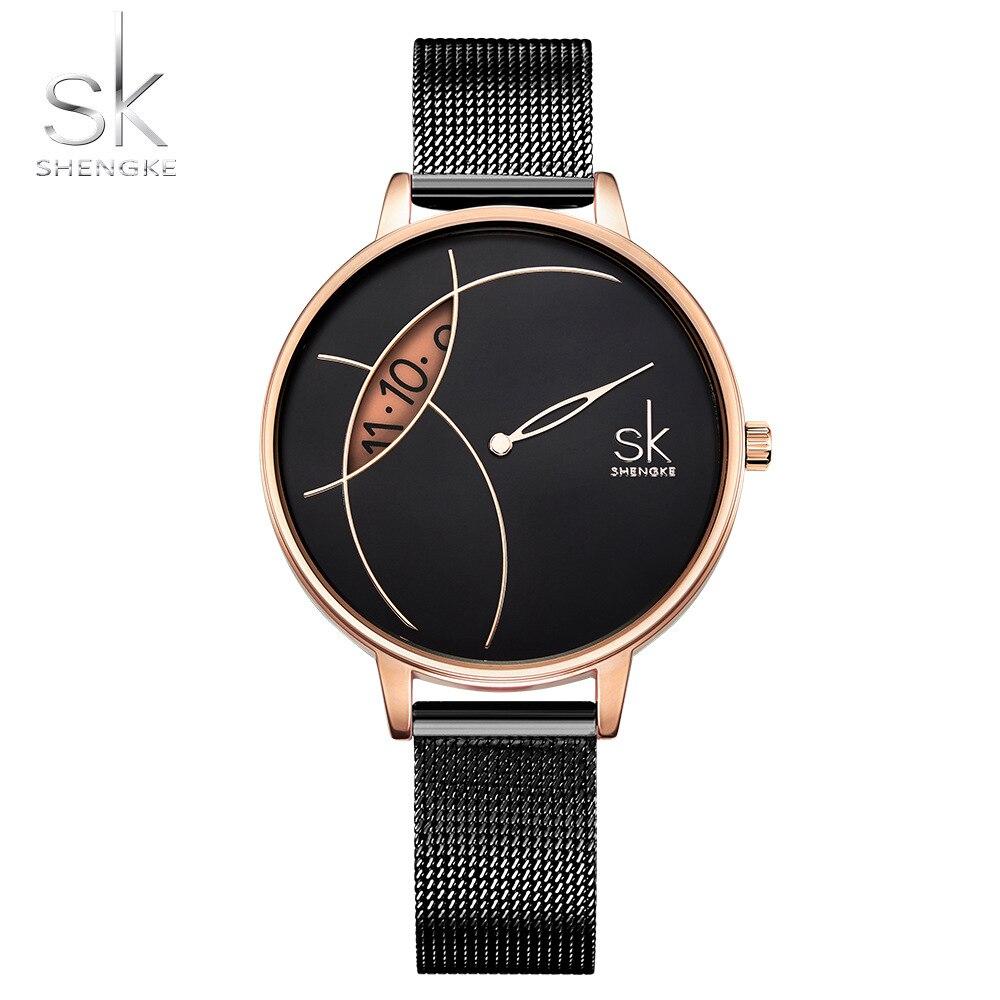shengke-creative-watch-women-stainless-steel-watch-super-slim-fashion-stylish-desgin-reloj-mujer-ladies-watch-relogio-feminino
