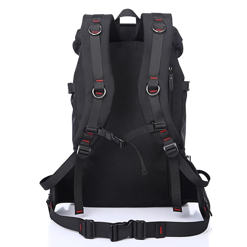 New Brand Waterproof Large Capacity 50L Men Travel Bags Fashion Travel Backpack Multifunction Shoulder Bag Weekend Mochila B61