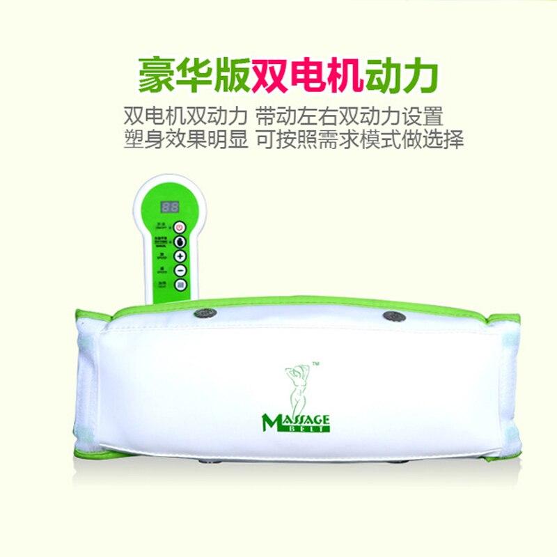 HFR 878 2E Vibro Vorm Trillingen Gewichtsverlies Brandende Machine Elektrische Afslankende Massage Riem Crazy Fit Massager