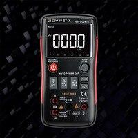 ZOYI ZT X True RMS Digital Multimeter Button 9999 Counts With Analog Bar Graph AC/DC Voltage Ammeter Current Ohm Auto/Manual