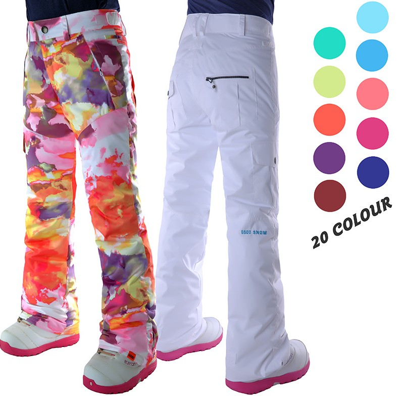 Womens white ski pants female black snowboarding riding snow pants outdoor colorful sports trousers waterproof breathable warm эко у история средневековья энциклопедия под редакцией умберто эко isbn 9785373072151