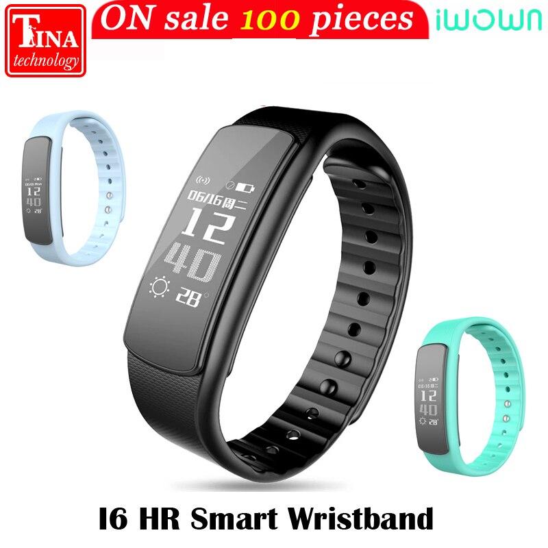 imágenes para IWOWN I6 smartband HR Pulsómetro pulsera Deporte Pulsera Inteligente Bluetooth 4.0 Inteligente Banda Rastreador de Ejercicios para IOS Android