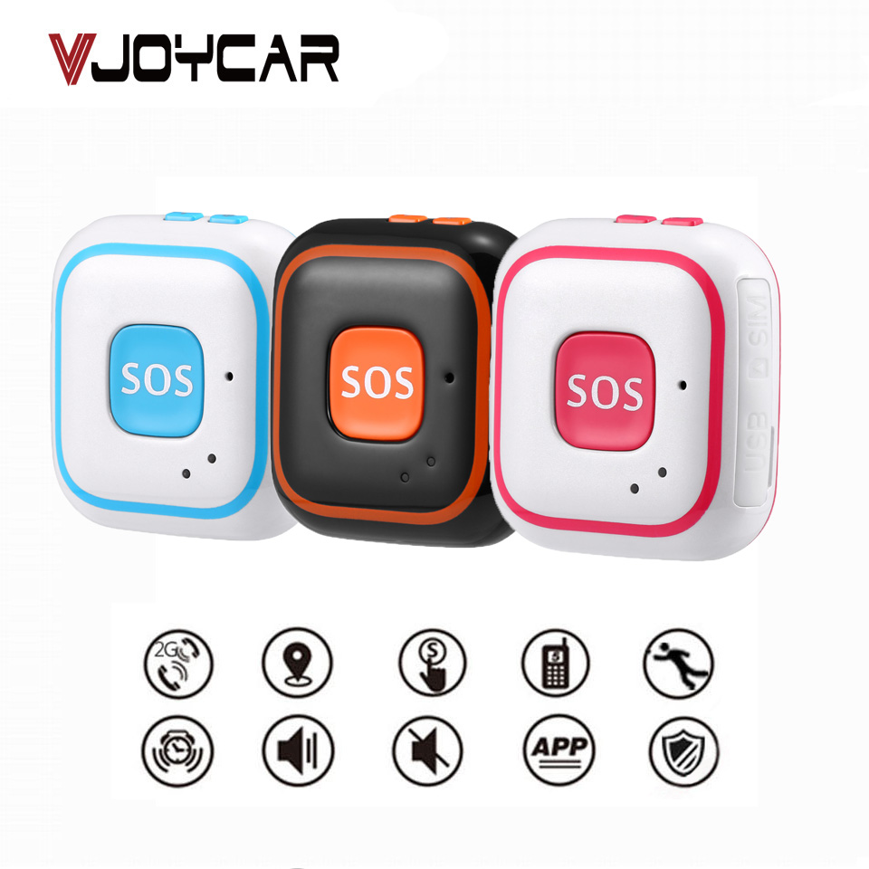 Wireless Real-Time GPS Tracker With SOS Communicator With A Sling For Kids Elderly Pet GPS+WIFI+LBS Locator Tracker Alarm 40 цена