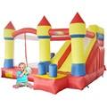 DHL FRETE GRÁTIS venda Quente casa do salto salto inflável combinação de slides castelo moonwalk inflável para a venda