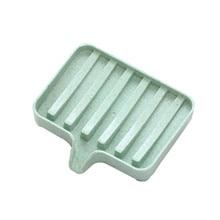 Porta sabonete бамбуковая мыльница Гибкая мыльница для ванной комнанты держатель для хранения стойки Soapbox пластина сушка на подносе