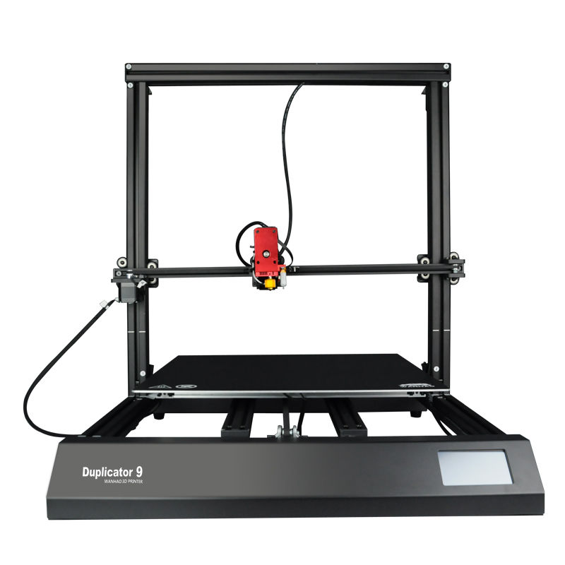 2019 WANHAO Newest Biggest FDM Desktop 3D Printer Duplicator 9 Mark2 500 *500*500 Auto Leveling Resume Printing