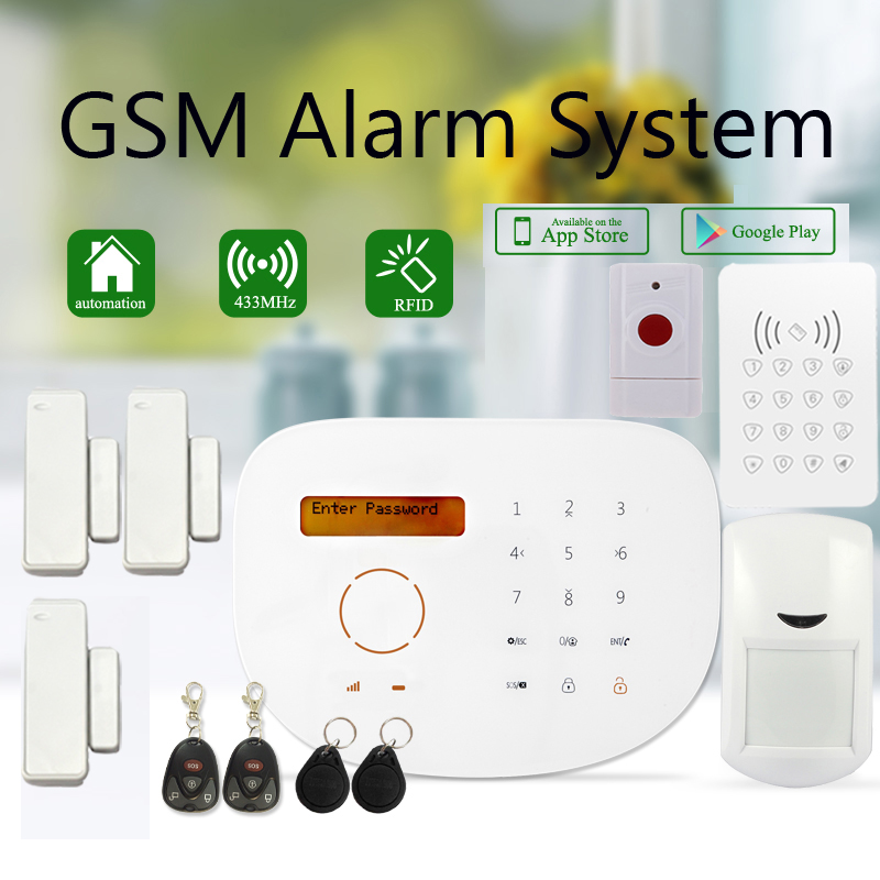 2016 New Release Touch GSM Anti-theft Burglar Alarme Systems S2G with RFID Doorbell Keypad and Emergency SOS Button point systems migration policy and international students flow