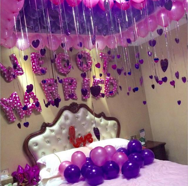 Nastasia 50pcs Lot 10inch 1 8g Pearl Balloon Pink Purple Silver White Wedding Decor New Year Birthday Party Supplies