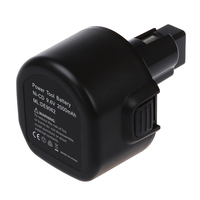 Replacement Power Tools Battery For DEWALT DC750KA DW955K 2 Compatible Part Numbers DE9036 DE9061 DW9062 Black