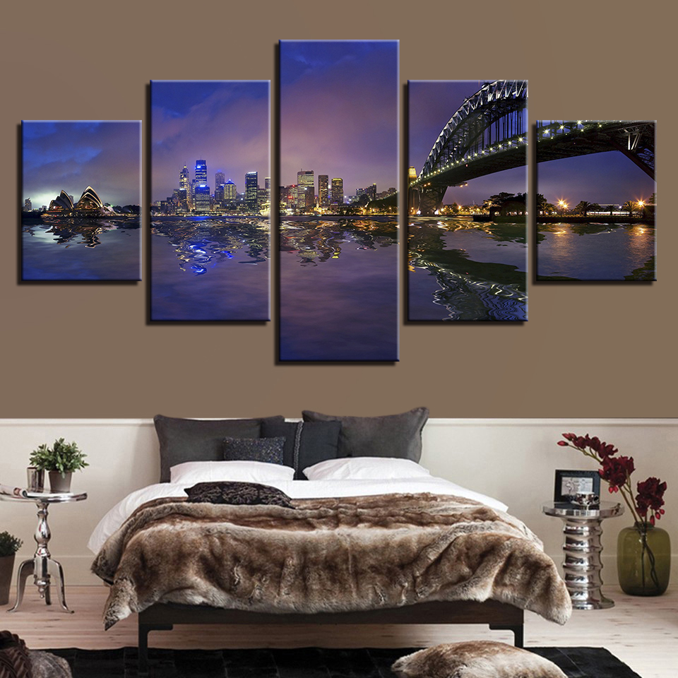 Home Decor Canvas Pictures HD Prints Paintings 5 Pieces
