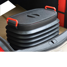 Lsrtw2017 Car Trunk Adjustable Stoage Box for Audi
