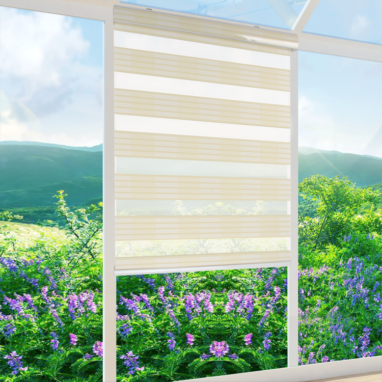 Китайский поставщик Зебра разных цветов Хорошее качество настроить с домашнего украшения жалюзи