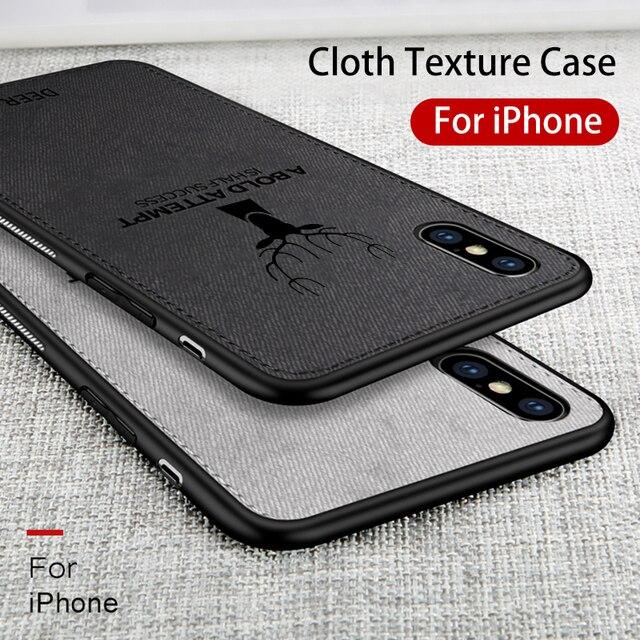 coque tissu iphone xs max