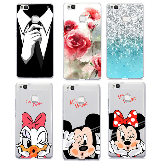 coque huawei p10 lite transparente minnie