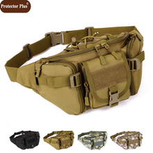 08111f5a7765 Protector Plus Multi-function Camouflage Waist Pack High Quality Wear-resistant  Nylon Bag Military