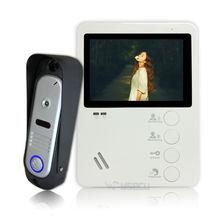 Homefong 4.3″TFT 800TVL Video Doorbell Camera Video Door Phone Doorbell Intercom System IP65 Waterproof  Indoor Monitors 1 V 1