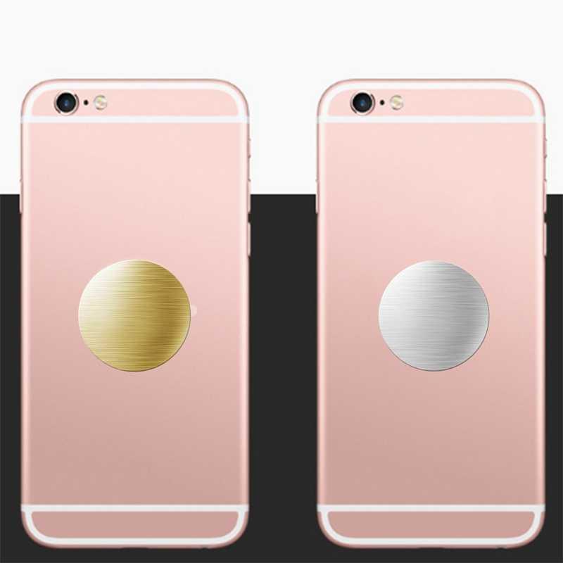 40 ミリメートルマット金属プレート磁気自動車電話ホルダーのための使用される付属品ユニバーサルマグネット Iphone 4 の 7 8 xiaomi