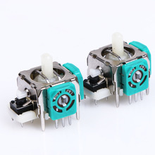 10Pcs Good Replacement for Sony 3D Analog Joystick Axis Sensor Module  for Playstation 3 PS3 Controller 3 Pins only  Repair